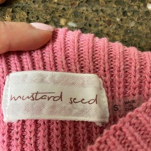 Mustard Seed Sweaters - Cold Shoulder Sweater